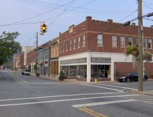 sevierville commercial district